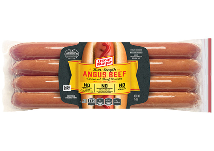 Oscar Mayer Bun Length Angus Beef Franks