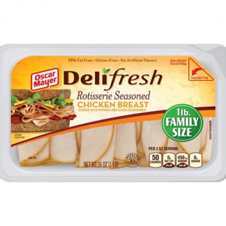 Oscar Meyer Delifresh Rotisserie Seasoned Chicken Breast