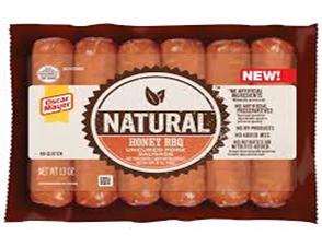 Oscar Meyer Natural Honey BBQ Hot Dogs