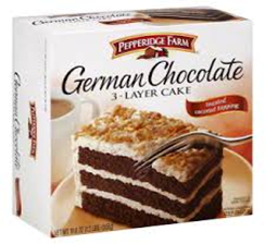 Pepperidge Farm German Chocolate Cake