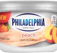 Philadelphi Cream Cheese Peach