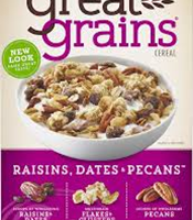 Post Great Grains Raisin Dates & Pecans