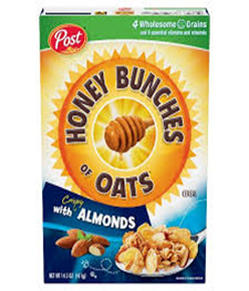 Post Honey Bunches of Oats with Almonds