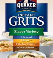 Quaker Flavor Variety Instant Grits