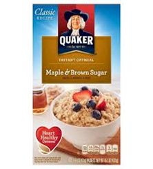 Quaker Maple & Brown Sugar Oatmeal