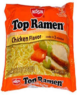 Ramen Noodles Chicken Flavor Noodles