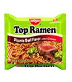 Ramen Noodles Picante Beef