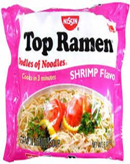 Ramen Noodles Shrimp Flavor