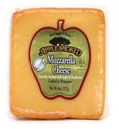 Red Apple Cheese Apple Smoked Mozzarella Cheese