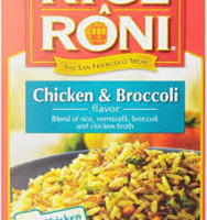 Rice A Roni Chicken Broccoli