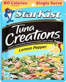 Starkist Tuna Creations Lemon Pepper