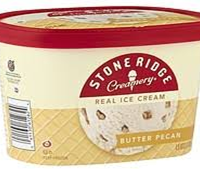 Stone Ridge Butter Pecan Ice Cream