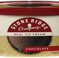 Stone Ridge Chocolate Ice Cream