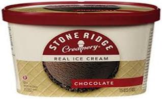 Stone Ridge Chocolate Ice Cream