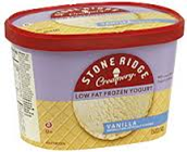 Stone Ridge Vanilla Ice Cream