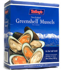 Talley's Greenshell Mussel