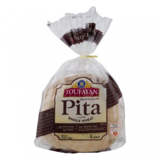 Toufayan Wholesome Wheat Pita Bread