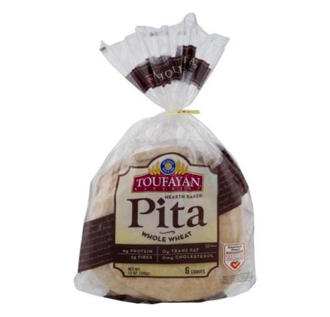 Toufayan Wholesome Wheat Pita Bread