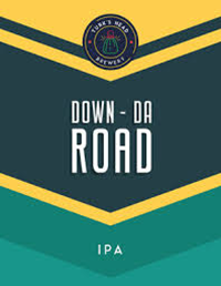 Turks Head DOWN-DA-ROAD IPA Beer