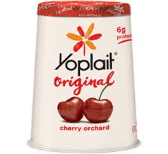 Yoplait Cherry Orchard Yogurt