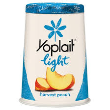 Yoplait Harvest Peach Lite Yogurt