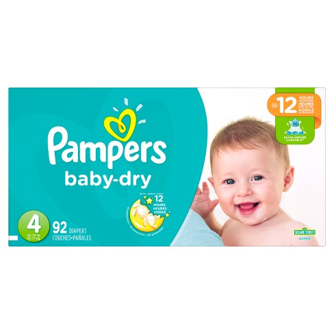 Pampers 92 count